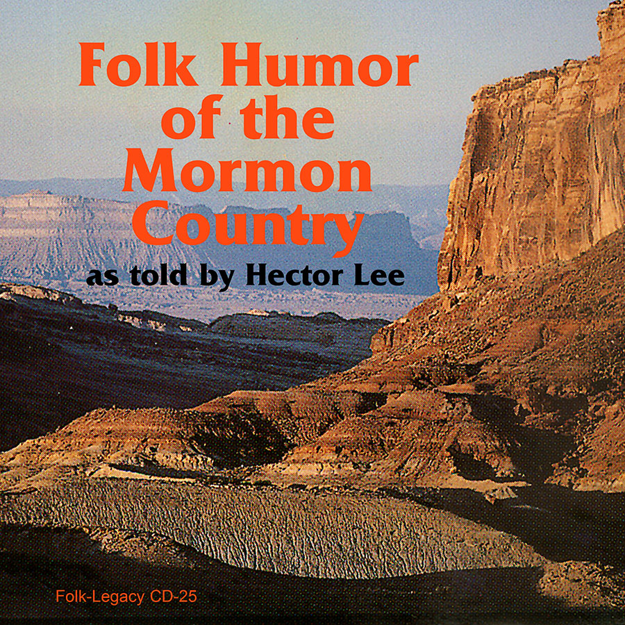 The Folklore of the Mormon Country, CD artwork