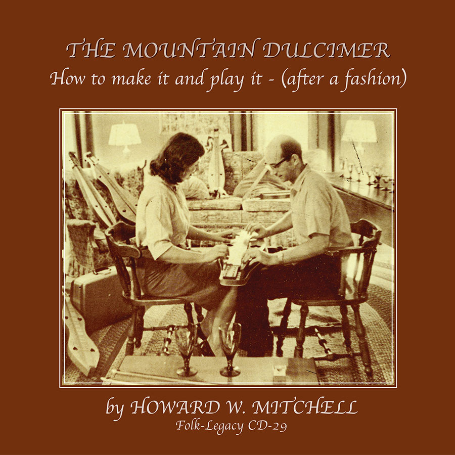 The Mountain Dulcimer, How to Make It and Play It, CD artwork