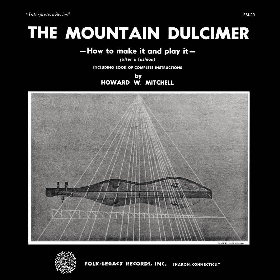 The Mountain Dulcimer, How to Make It and Play It, LP artwork