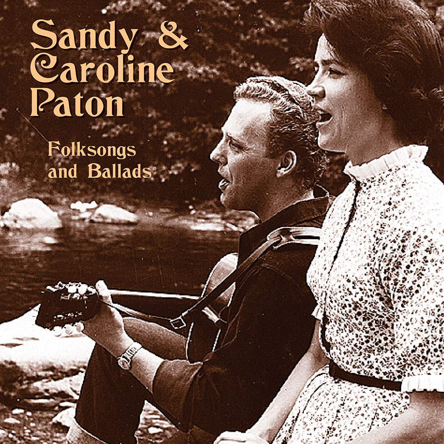 Sandy and Caroline Paton, CD artwork