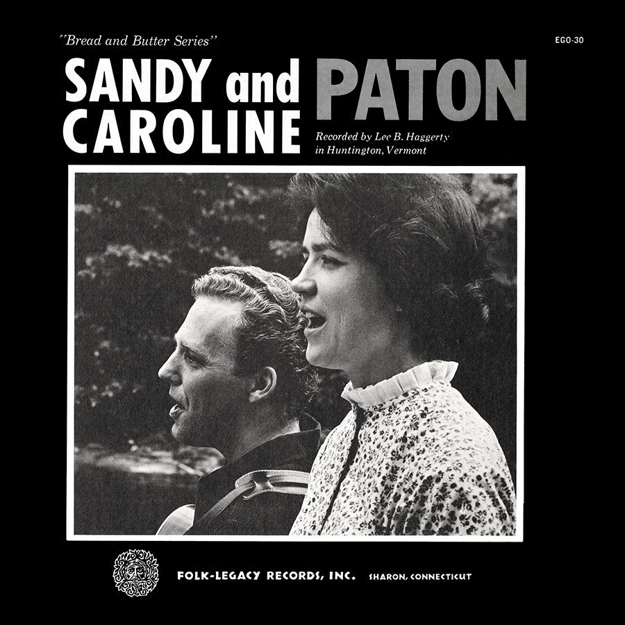 Sandy and Caroline Paton, LP artwork