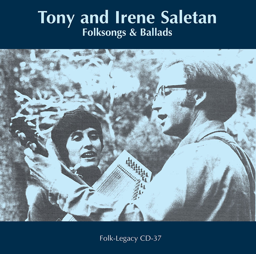 Folk Songs and Ballads, CD artwork