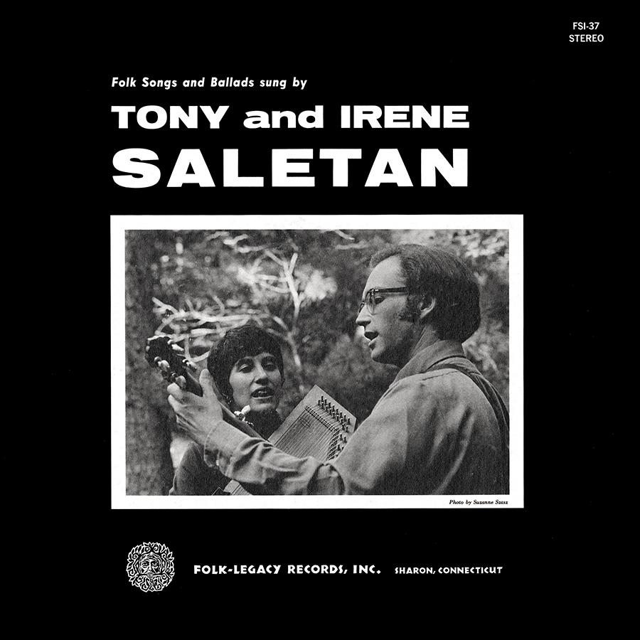 Folk Songs and Ballads, LP artwork