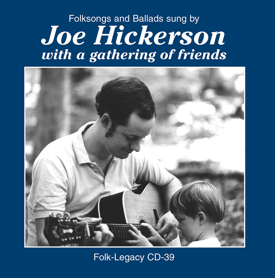 Joe Hickerson with a Gathering of Friends, CD artwork