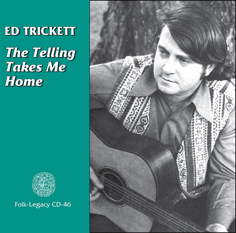 The Telling Takes Me Home, CD artwork