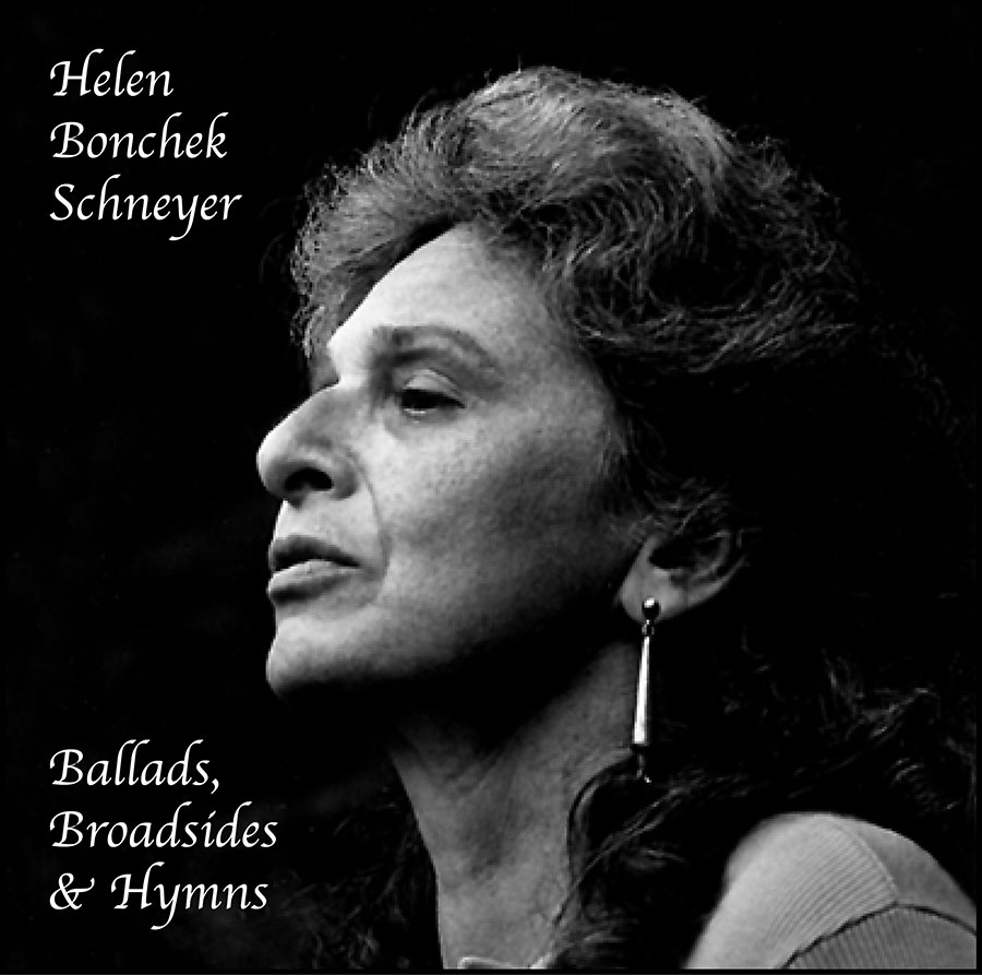 Ballads, Broadsides and Hymns, CD artwork