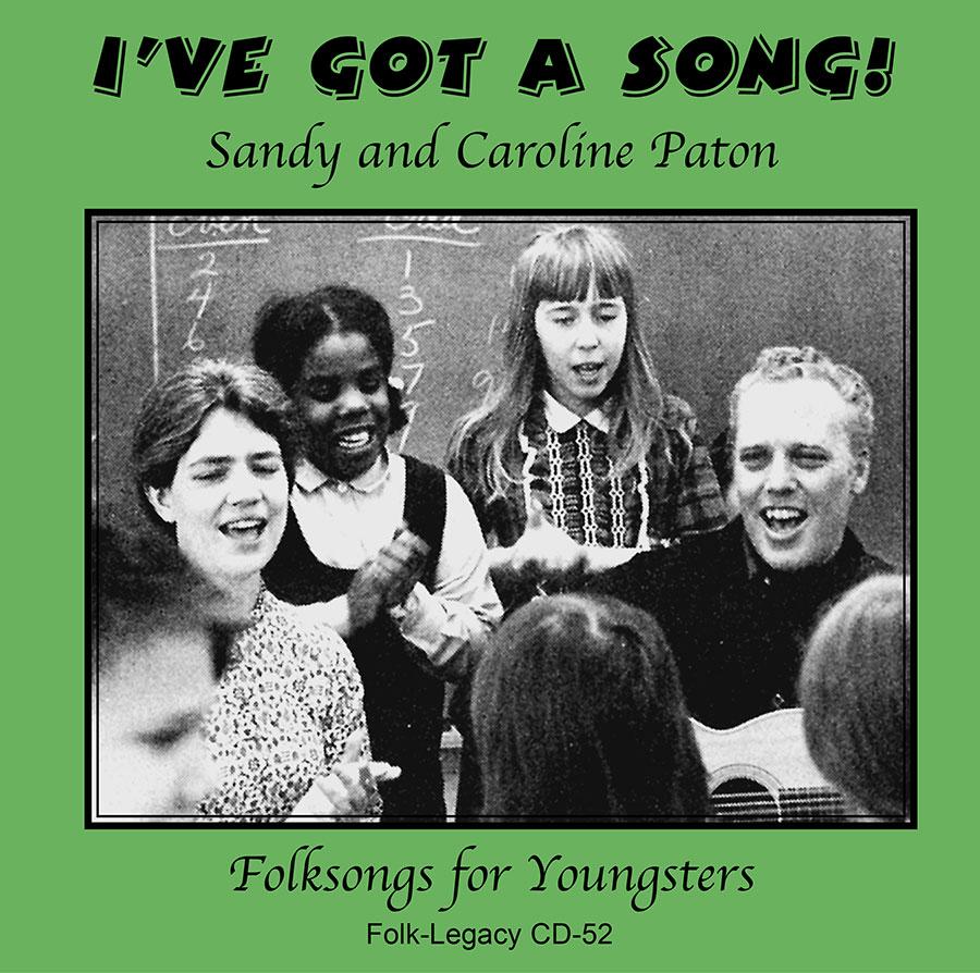 I've Got a Song, CD artwork