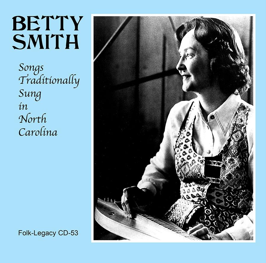 Songs Traditionally Sung in North Carolina, CD artwork