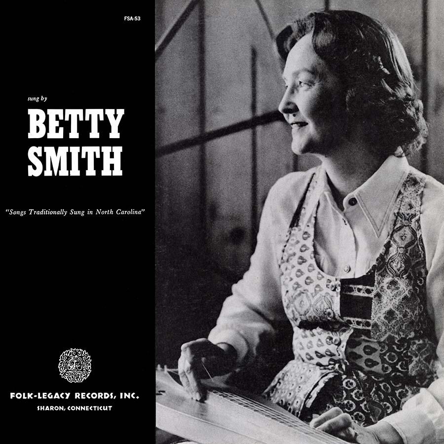Songs Traditionally Sung in North Carolina, LP artwork