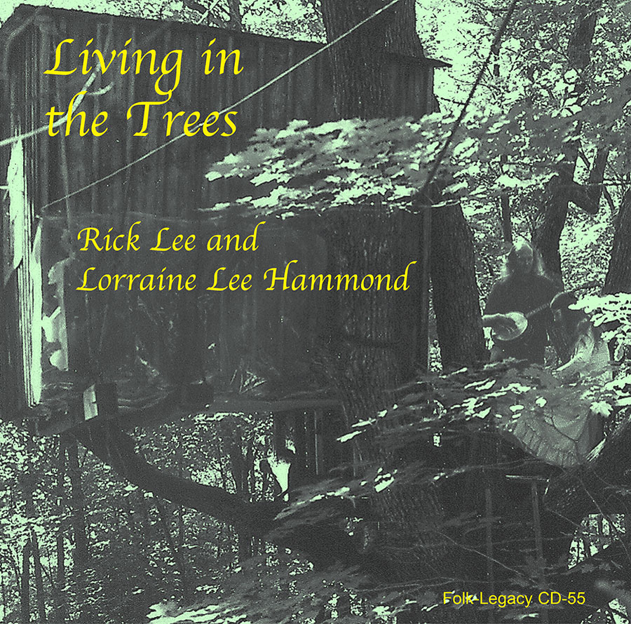 Living in the Trees, CD artwork