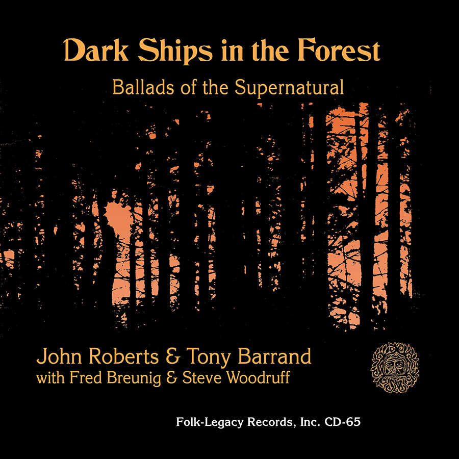 Dark Ships in the Forest, Ballads of the Supernatural, CD artwork