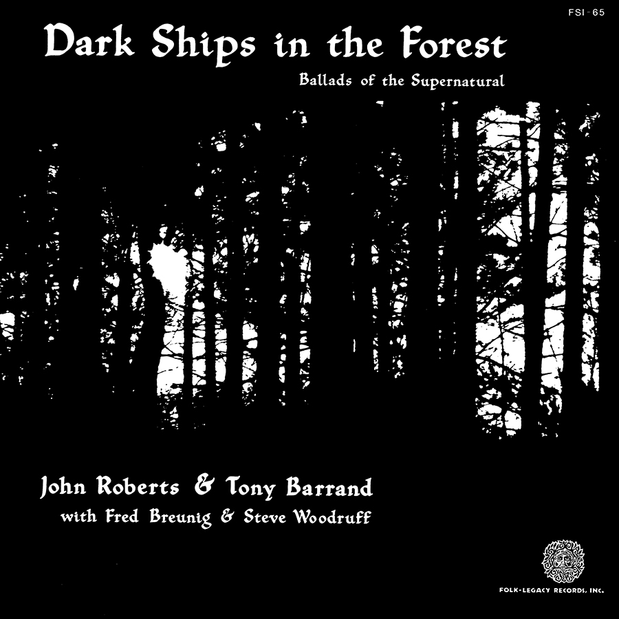 Dark Ships in the Forest, Ballads of the Supernatural, LP artwork
