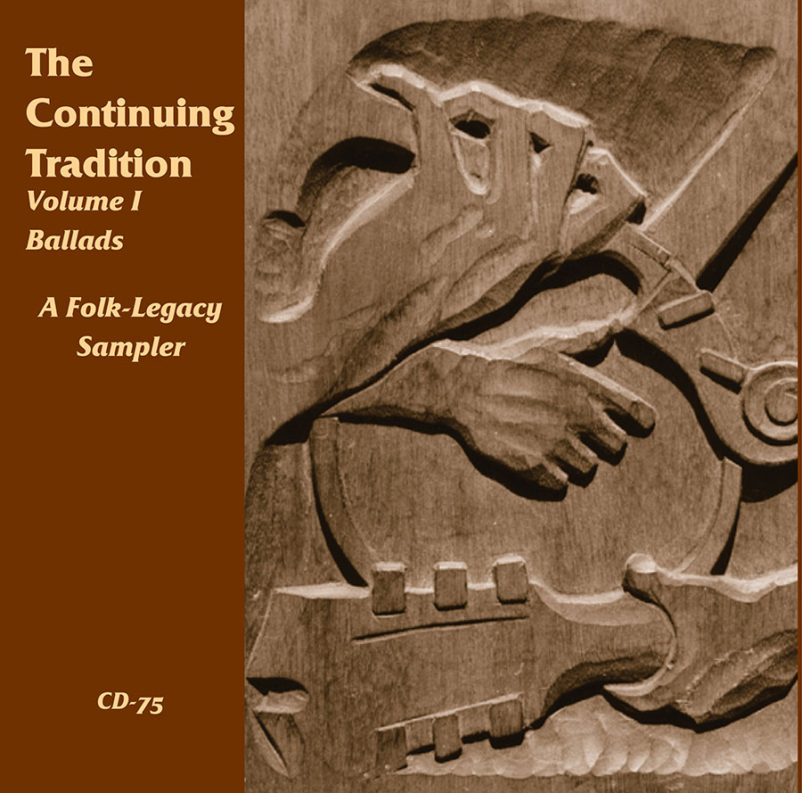 The Continuing Tradition Sampler, Volume 1: Ballads, CD artwork
