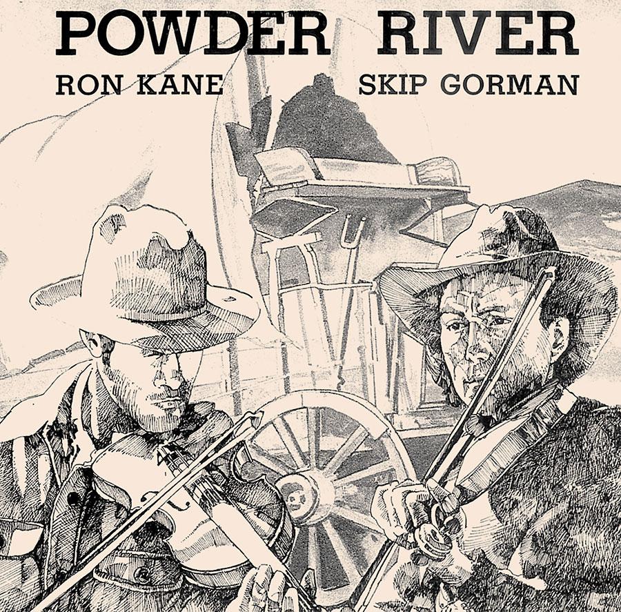 Powder River, CD artwork
