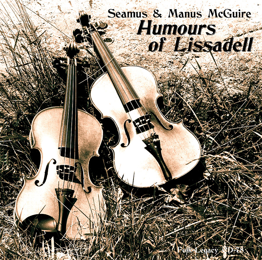 Humours of Lissadell, CD artwork