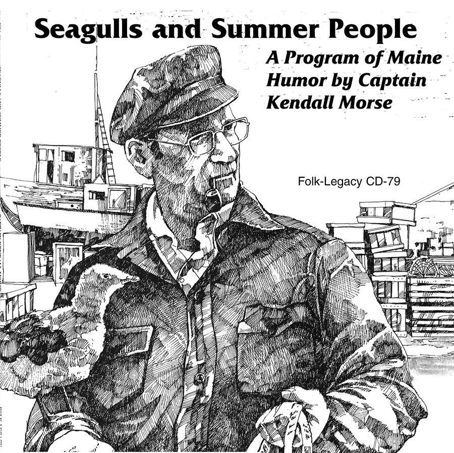 Seagulls and Summer People, CD artwork