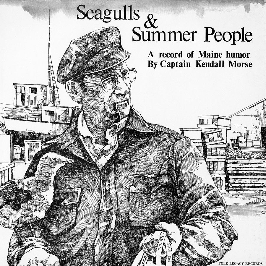 Seagulls and Summer People, LP artwork