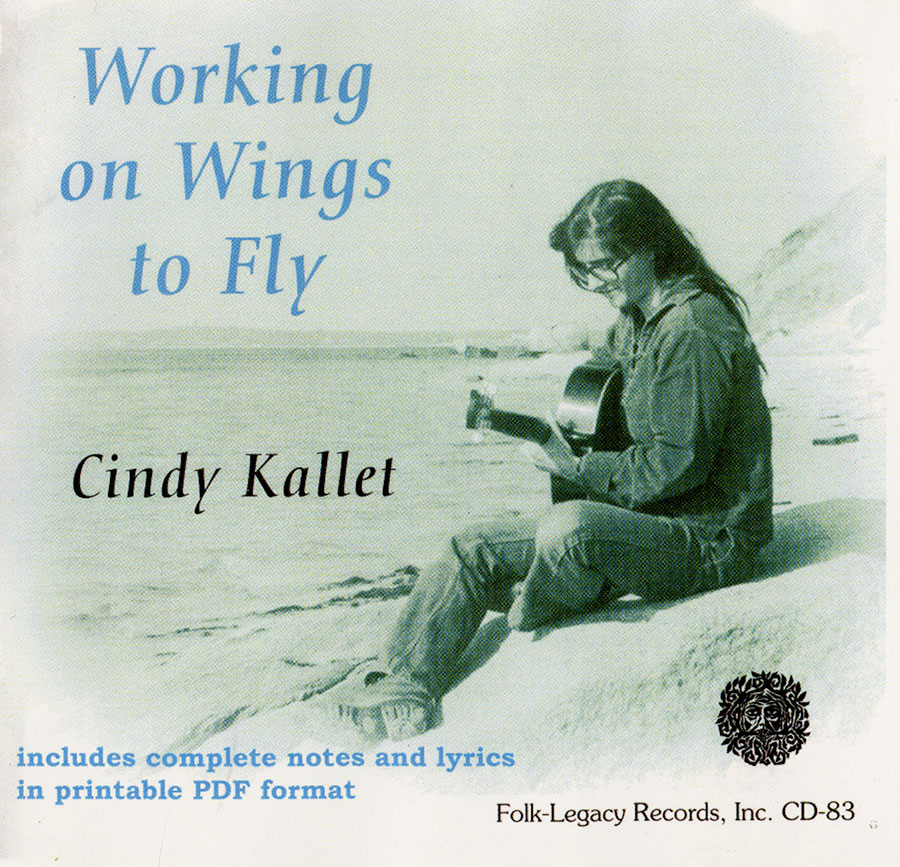 Working on Wings to Fly, CD artwork