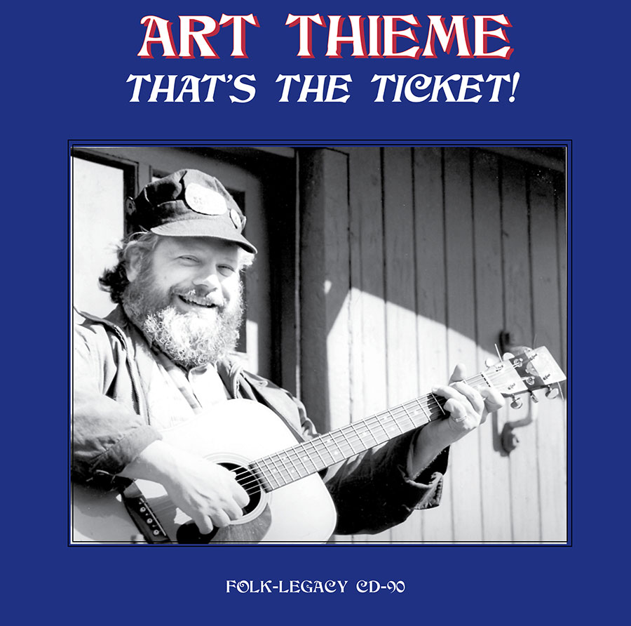 That's the Ticket, CD artwork