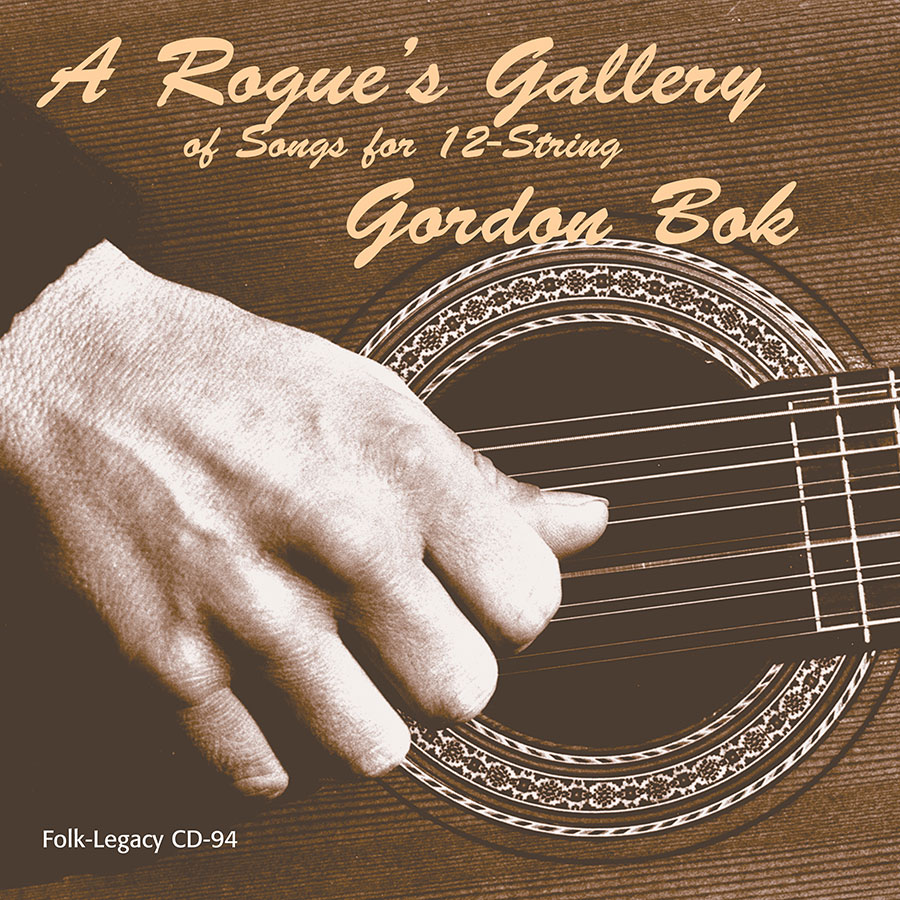 A Rogue's Gallery of Songs for 12-String, CD artwork