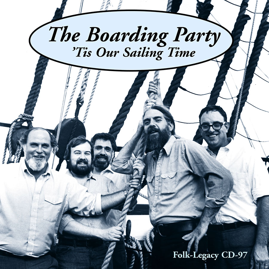 Tis Our Sailing Time, CD artwork