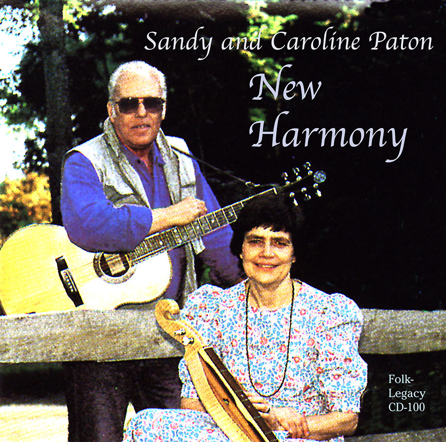 New Harmony, CD artwork