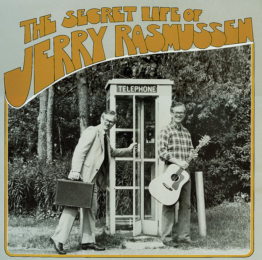 The Secret Life of Jerry Rasmussen, CD artwork
