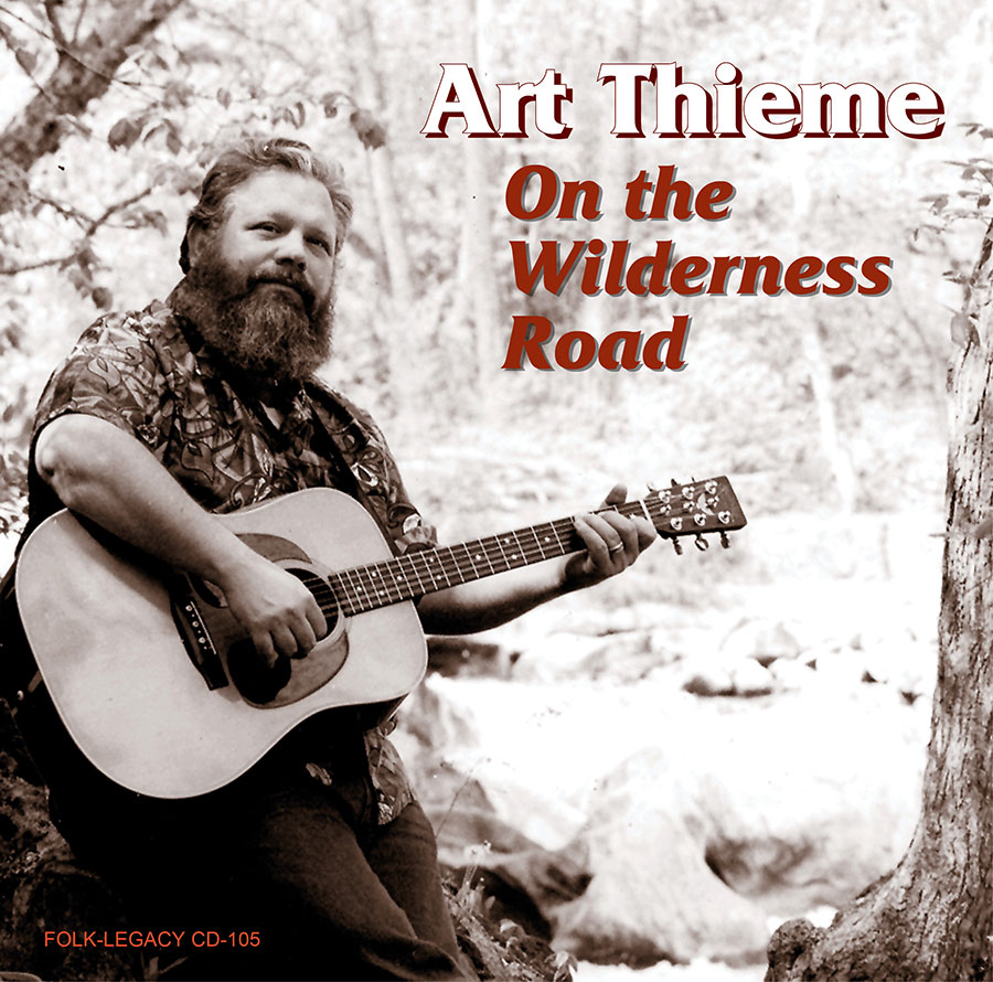 On the Wilderness Road, CD artwork