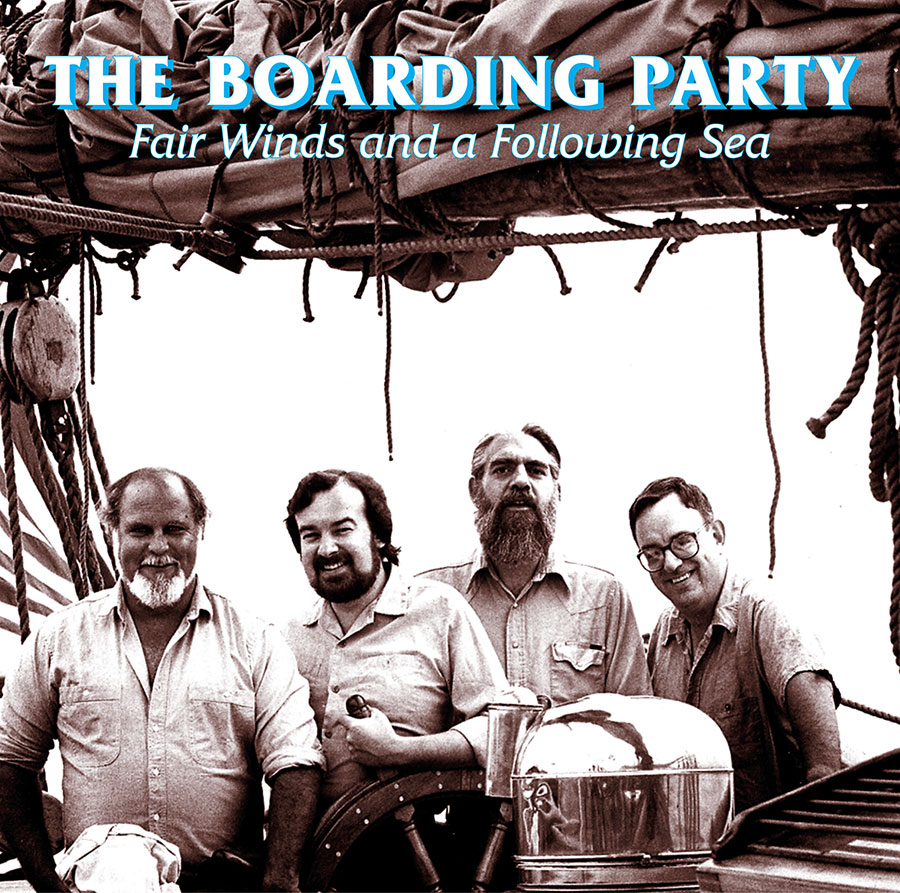 Fair Winds and a Following Sea, CD artwork