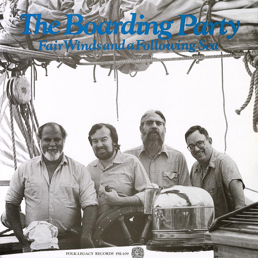 Fair Winds and a Following Sea, LP artwork