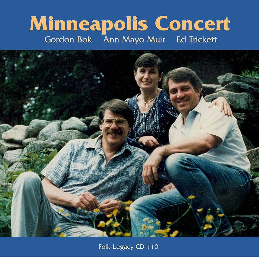 Minneapolis Concert, CD artwork