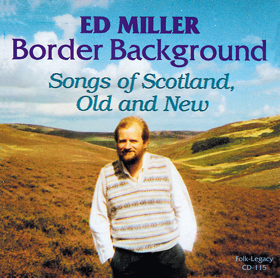 Border Background: Songs of Scotland, Old and New, CD artwork
