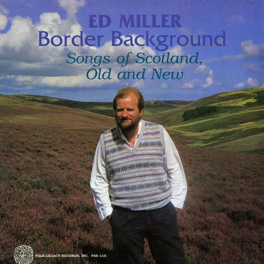 Border Background: Songs of Scotland, Old and New, LP artwork