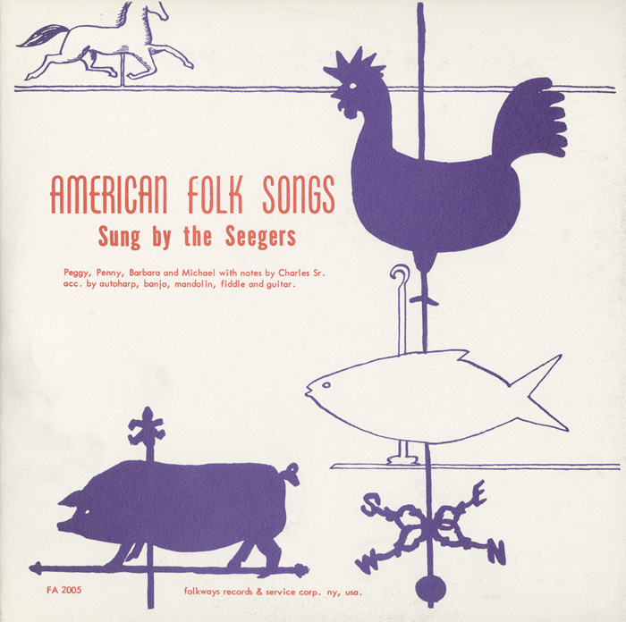 American Folk Songs Sung by the Seegers
