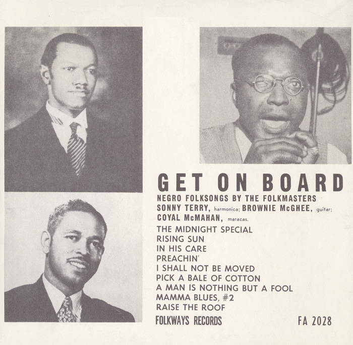 Get on Board: Negro Folksongs by the Folkmasters