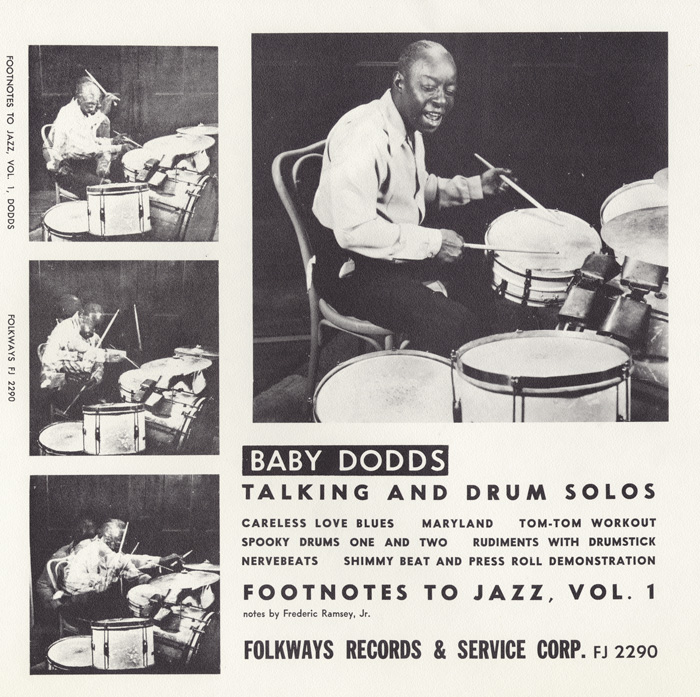Footnotes to Jazz, Vol. 1: Baby Dodds Talking and Drum Solos