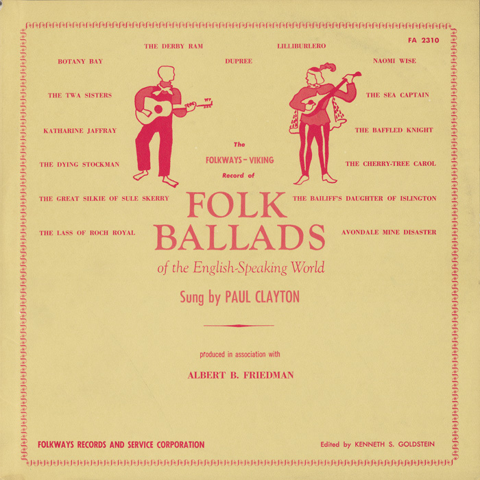 Folk Ballads of the English-Speaking World
