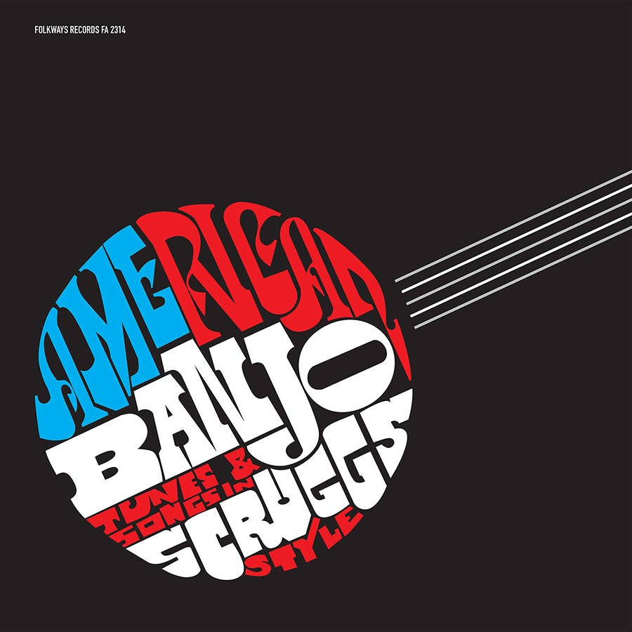 American Banjo 2018 reissue LP artwork