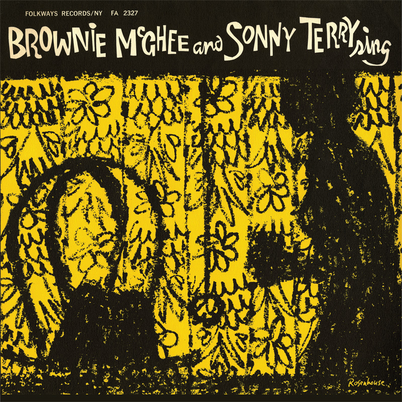 Brownie McGhee and Sonny Terry Sing LP artwork