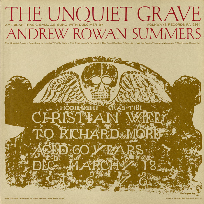 Unquiet Grave and Other American Tragic Ballads