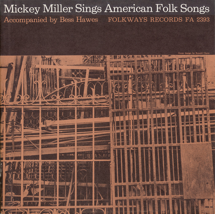 Mickey Miller Sings American Folk Songs