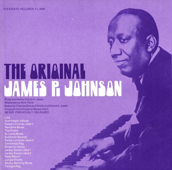The Original James P. Johnson