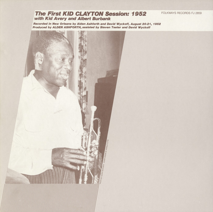 The First Kid Clayton Session: 1952