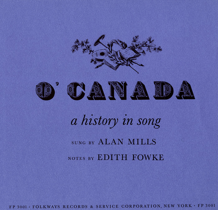 O' Canada: A History in Song