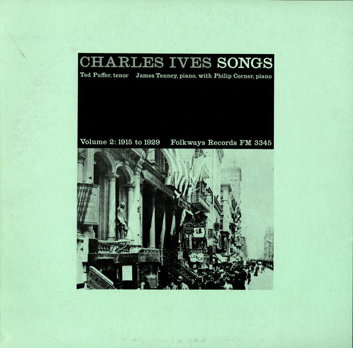 Charles Ives Songs, Vol. 2: 1915-1925