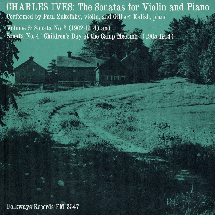 Charles Ives: The Sonatas for Violin and Piano, Vol. 2