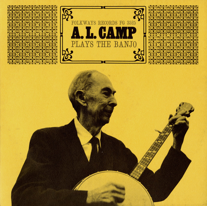 A.L. Camp Plays the Banjo