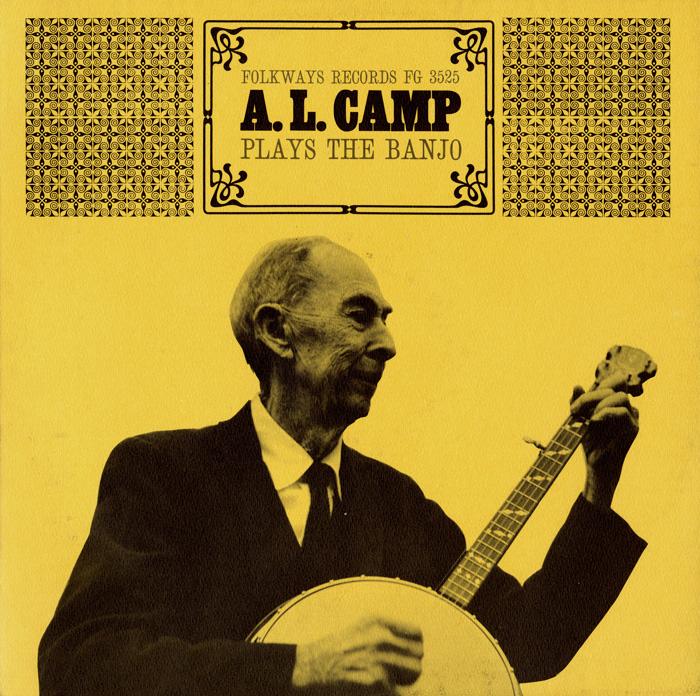 A.L. Camp Plays the Banjo