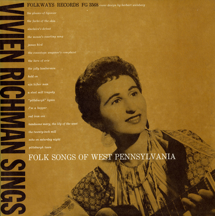 Vivien Richman Sings Folk Songs of West Pennsylvania