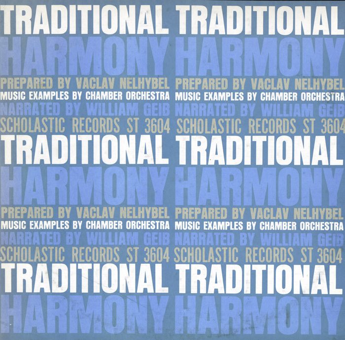 Traditional Harmony Prepared by Vaclav Nelhybel